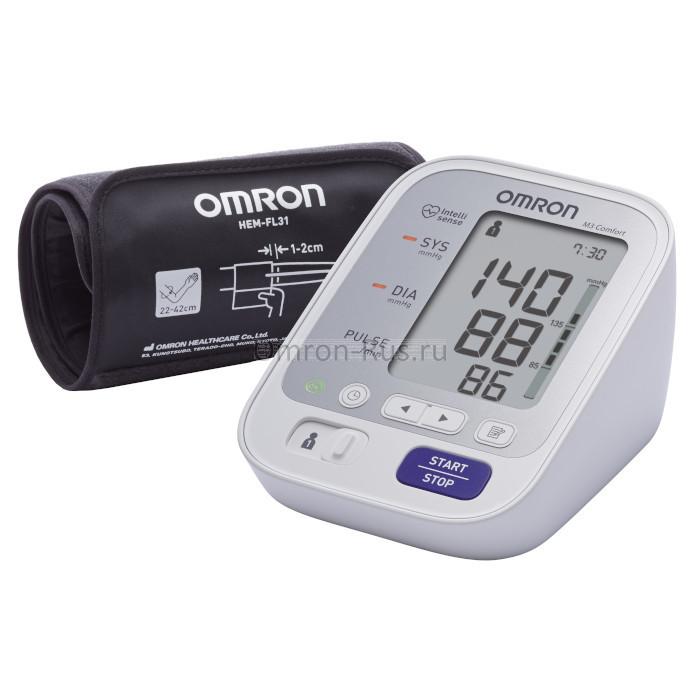 Тонометр Omron M3 Comfort HEM-7134-A:RU