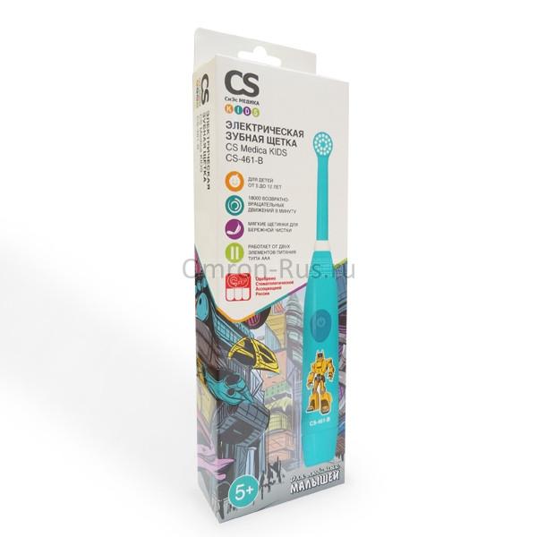 Электрическая зубная щетка CS Medica Kids CS-461-B