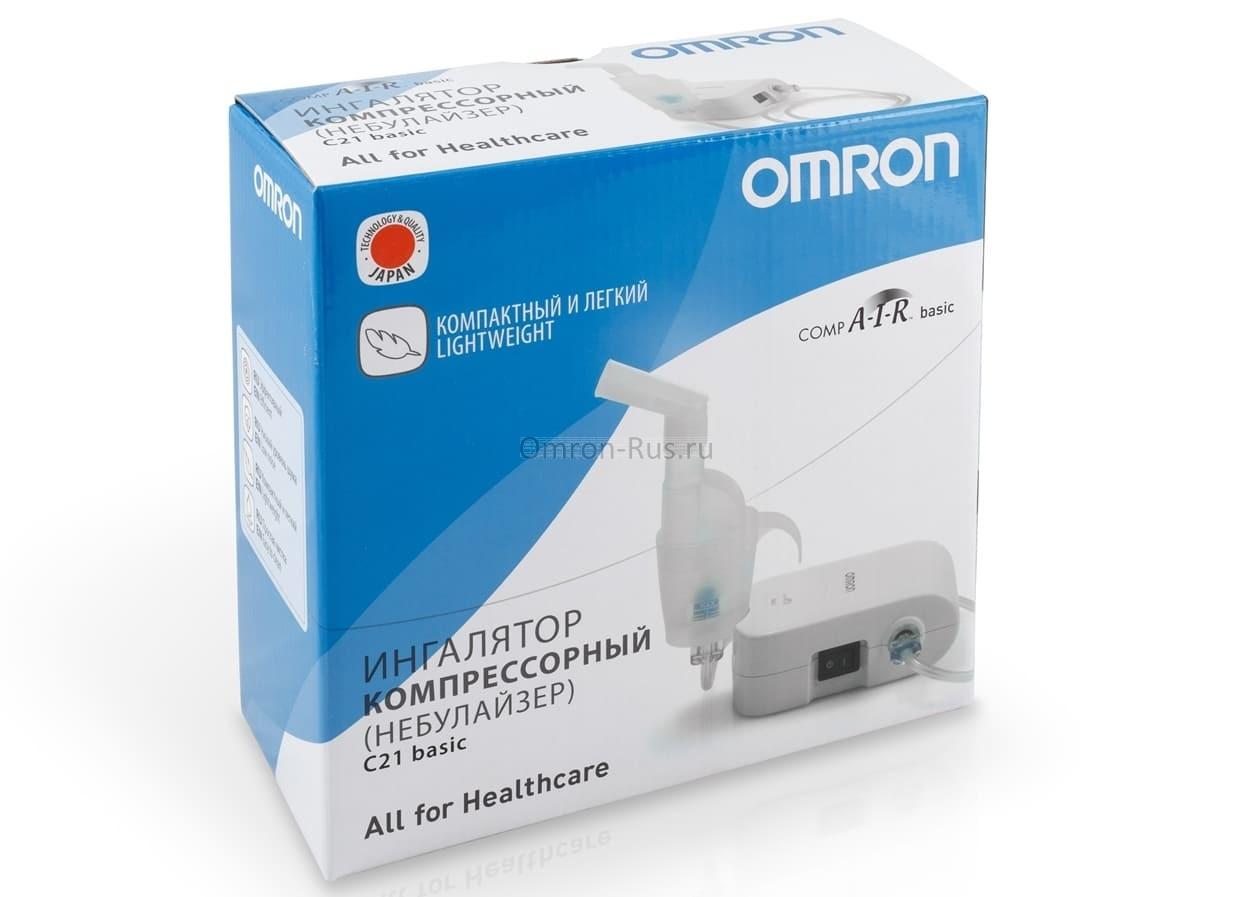 Ингалятор компрессорный Omron CompAIR C21 basic NE-C803-RU