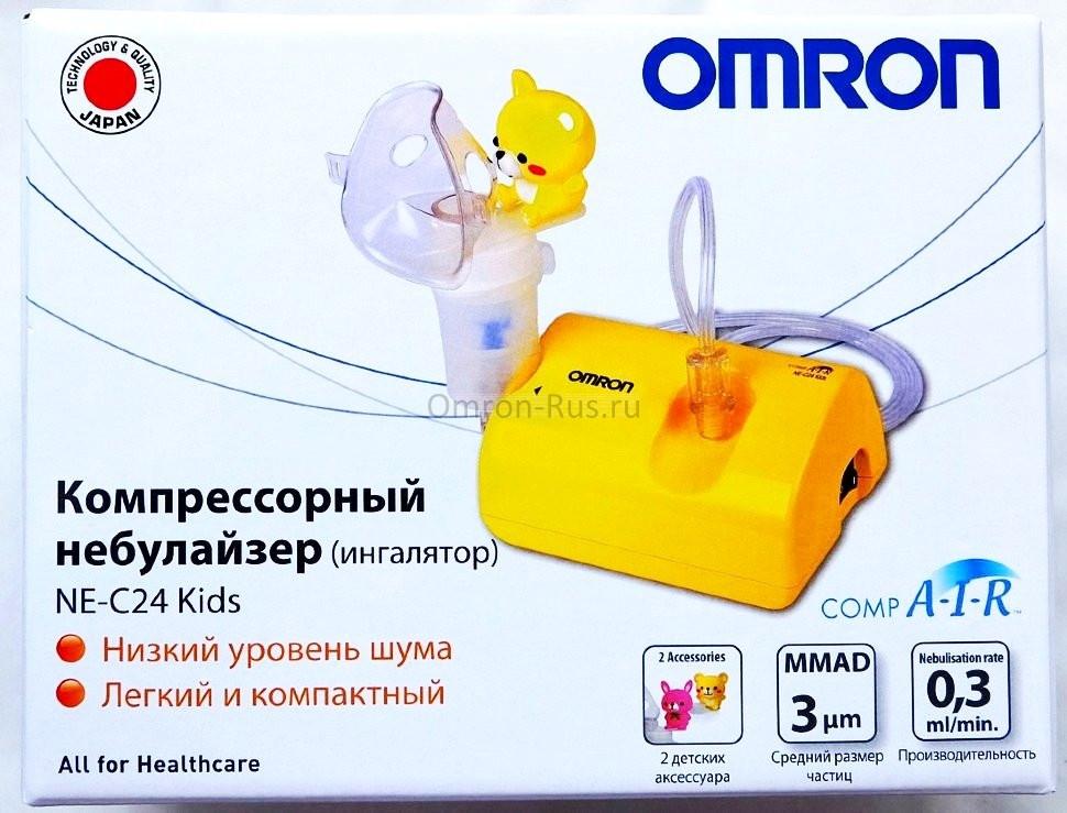 Небулайзер ингалятор Omron CompAIR NE-C24-Kids