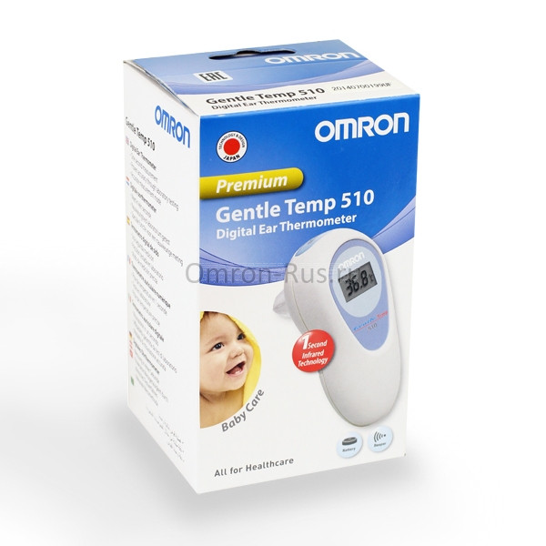 Термометр Omron Gentle Temp 510 инфракрасный ушной