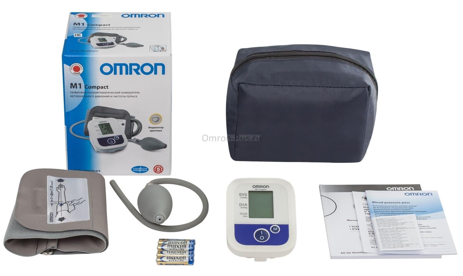 Тонометр Omron M1 Compact HEM-4022-RU
