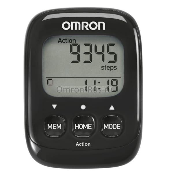 Шагомер Omron Walking Style IV HJ-325-EBK
