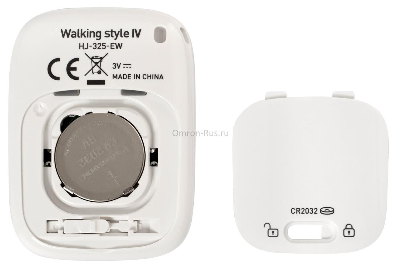 Шагомер Omron Walking Style IV HJ-325-EW
