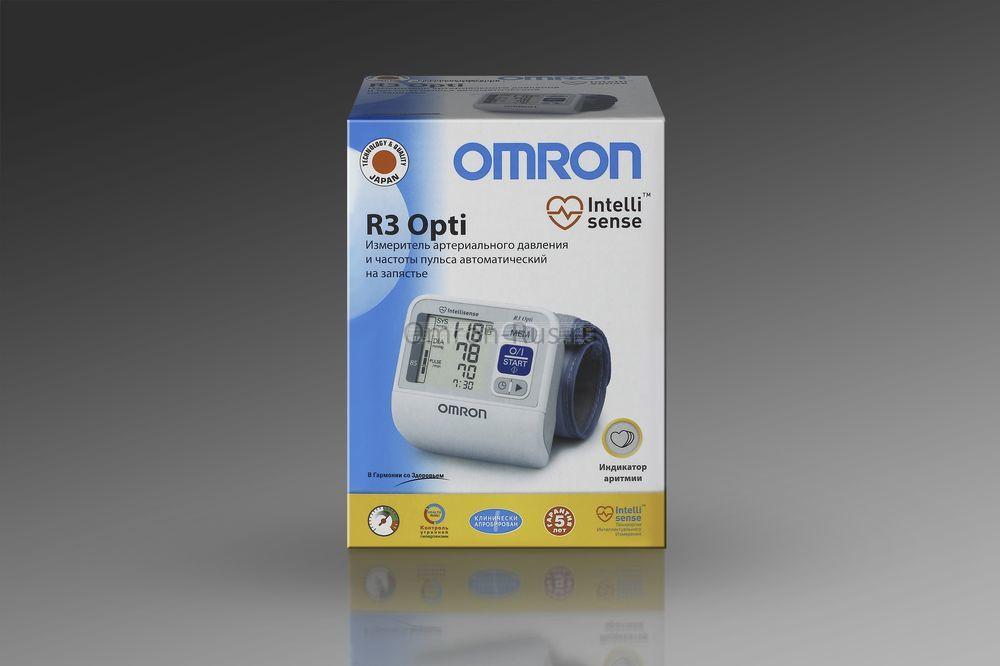 Тонометр Omron R3 Opti на запястье
