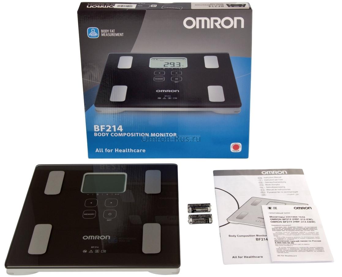 жироанализатор Omron BF-214